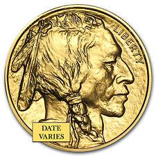 Random Year 1 oz Gold American Buffalo Coin .9999 Fine