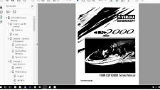 Yamaha Jet Boat service manual LS2000 LST1200 1999 - 2003 Service Manual Library