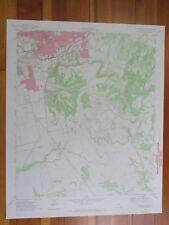 Big Spring South Texas 1974 Original Vintage USGS Topo Map