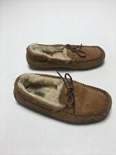 UGG Australia Dakota Slip On Brown Moccasin Slippers S/N 5612 Women's Size 7