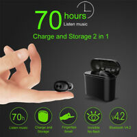 Lightweight Mini Wireless Blutooth Earphone With 2 In 1 Charging Storage Box US