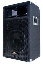 "500 Watt DJ PA PARTY LAUTSPRECHER Disco Box 25cm / 10"" Basslautsprecher PW25 NEU"