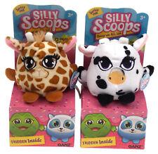 Giraffe Cow Panda Koala Dog Silly Scoop Stuffed Plush Toy Series One Blind Box 5