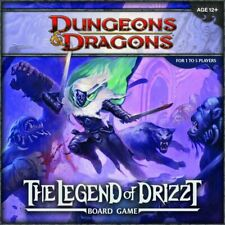 Dungeons & Dragon Legend of Drizzt Board Game SEALED UNOPENED FREE SHIPPING