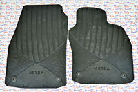 GENUINE Vauxhall ASTRA H - RUBBER CAR FLOOR / CARPET MATS - FRONT - NEW 93199706