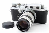 Excellent++ Nicca Type-III S 35mm Rangefinder Camera w/ 100mm f/3.5 Lens