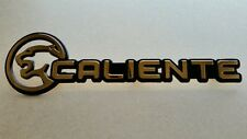 NEW Mercury Cougar Roof Panel CALIENTE Emblem AWESOME SHAPE Gold RARE