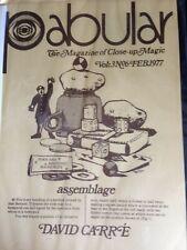 Pabular Magazine vol 3 #6 David Carre Vgc