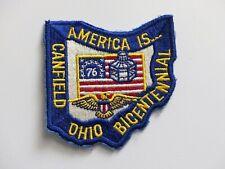 1976 Canfield Ohio Bicentennial patch