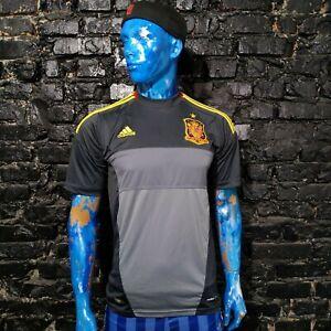 Spain Goalkeeper football shirt 2012 - 2013 Adidas X11644 Camiseta Mens Size M