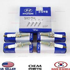 SPARK PLUGS 4PCS! SET! GENUINE!! FOR VARIOUS HYUNDAI KIA 1884909085