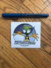 FLOW Snowboarding Sticker, Aliens Sticker, New