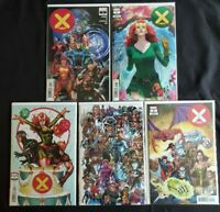 X-MEN (2019) 1 LOT COVER A~ARTGERM~BROOKS PARTY~BAGLEY EVERY MUTANT~2099 VARIANT