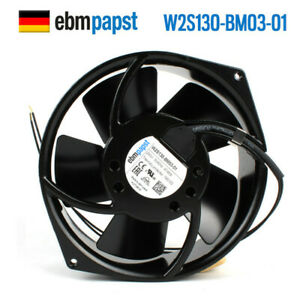 Ebmpapst W2S130-BM03-01 230V 47/46W 2700/3050RPM All-metal High Cooling Fan