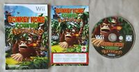 Nintendo Wii game - Donkey Kong Country Returns - disc and instructions ONLY