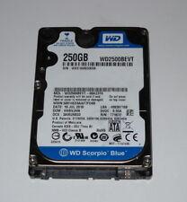 "HARD DISK 250 GB 2,5"" SATA WD2500BEVT-00A23T0 , PCB 2060-771672-004 REV A"