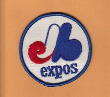 OLD 1960s MONTREAL EXPOS STITCHED 3inch PATCH UNSOLD