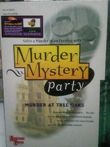 Murder Mystery Party Board Game: Murder At Tall Oaks 1996 BRAND NEW SEALED
