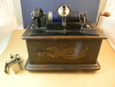 Edison Banner Front Standard Phonograph, model-H reproducer 4 minute