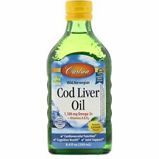 Wild Norwegian, Cod Liver Oil, Natural Lemon Flavor, 1,000 mg, 8.4 fl oz (250