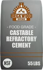Refractory Cement • Castable Refractory Cement - 55lb Bag / Food-Grade