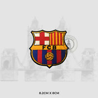 FOOTBALL CLUB BRAND LOGO FCB Iron on Embroidered Patch Badge For Clothes etc