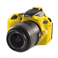 EasyCover Pro silicone CAMERA ARMOR CASE to Fit Nikon D5500 DSLR-Jaune