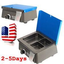 Dental 3 Well Analog Wax Melting Dipping Pot Heater Melter Waxer Digital 0-150℃