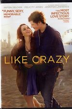 Like Crazy (DVD, 2013) felicity Jones, Anton yelchin, Jennifer Lawrence