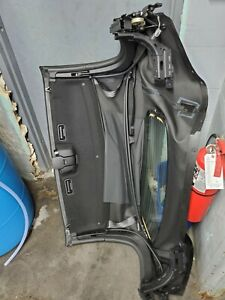 2016-2017 Mazda MX5 Miata OEM Soft Top Assembly w/ Frame, Black Cloth