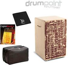 Schlagwerk Cajon X-One CP-130 Styles & Tasche, Lehrbuch & Sitzpad  *TOPANGEBOT*