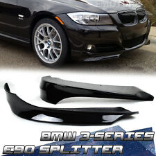 PAINTED BMW E90 3-SERIES 4DR LCI FRONT BUMPER LIP SPLITTER ABS 2011 320i #475