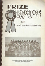 *HILLSBORO *DEERING NH VINTAGE *PRIZE RECIPES *SCHOOL MUSIC COOK BOOK *LOCAL ADS