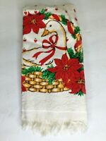 Vintage Christmas Duck Hand / Kitchen Towel NEW