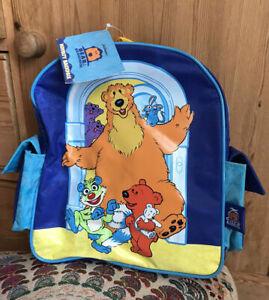 Jim Henson Bear in the Big Blue House Treelo Kids Backpack Rucksack School Bag