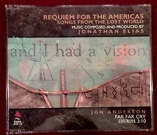 "Jon Anderson ""Far Far Cry"" (US / Canada 1989) PROMO CD Howe Squire Wakeman YES"