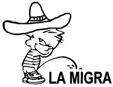 La Migra Decal - Window sticker Car/RV/Truck/ATV/Hunting/Outdoor Vinyl Decal