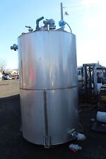 94 Tall 65 Diameter Vertical Stainless Steel Storage Water Tank With Ladder