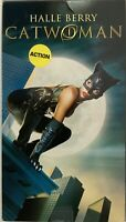 Cat Woman 2005 VHS Halle Berry Benjamin Bratt Lambert Wilson VHSshopCom