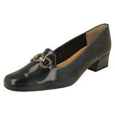 Ladies Van Dal Court Shoes EE Fit -Twilight