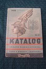 OPC 1948 Drufila Katalog známek Ceskoslovenska Moravy Slovenska 210pgs