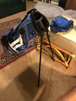 """Callaway XJ Series Golf Stand Bag 30"""" w Rain Cover Dual Strap System Youth Kids!"""
