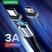 Cable C Magnetic Type Usb Charger Micro Fast Charging 3A for Samsung Huawei
