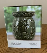 New Sonoma Scented Wax Cube Warmer Green Ivy Electric Decorative