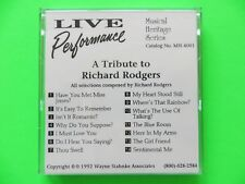 Yamaha Disklavier PianoSoft Pianodisc A Tribute To Richard Rodgers  Floppy Disk
