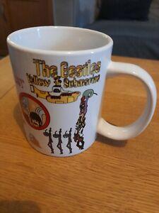 The Beatles Yellow Submarine Large Mug- 2009 Rare Design by ROCK OFF