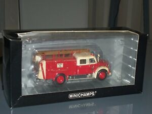 Minichamps Magirus Deutz Merkur Tlf 16 + Fire Brigade Dortmund 1:43 439141072