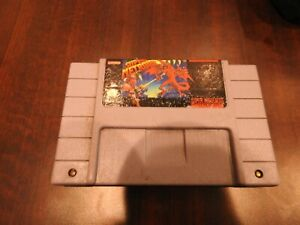 Super Metroid SNES Cleaned Tested