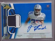 2013 Topps Finest Blue Refractor Joseph Randle Auto 2 Color Patch Rc Srl # to 99