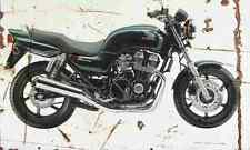 Honda CB750F2 SevenFifty 1998 Aged Vintage SIGN A4 Retro
